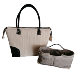 Luxury Tote Handbag with...