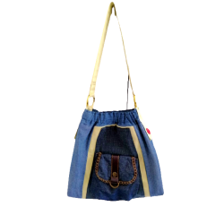 Casual Denim Sling Handbag...