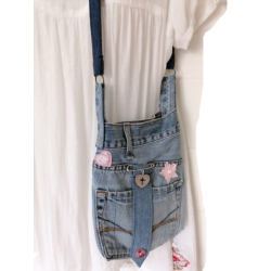 Casual Denim Sling Shoulder...